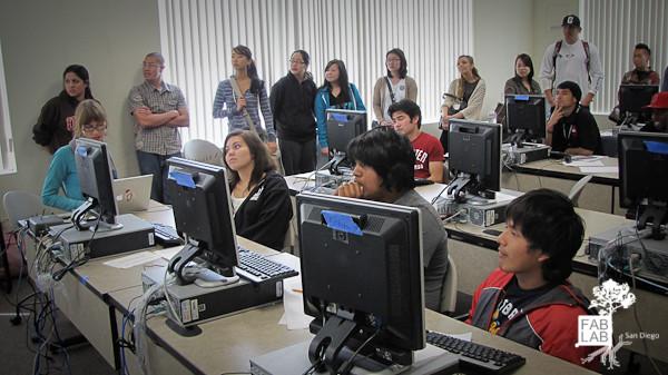 Creative Computing . FAB LAB SD . UCSD Extension @ Metro Center