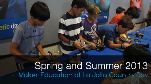 Maker Education at La Jolla Country Day