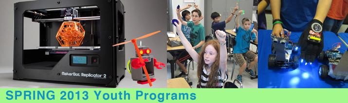Fab Lab Spring 2013 Programs