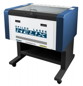 "Wattages- CO2 laser 30,40,50, or 60 Work Area- 24"" x 12"" (610x305 mm) Maximum Material Thickness- 5.5"" (140 mm)"