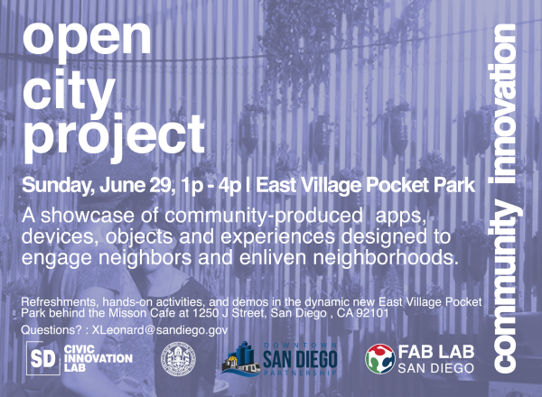 Open City Project Flyer